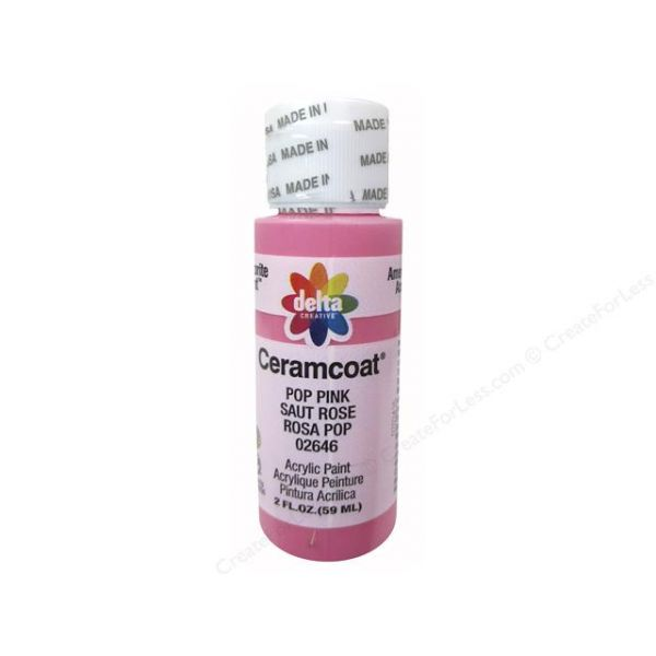 Ceramcoat Pop Pink Acrylic Paint