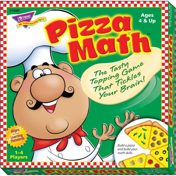 Pizza Math Learning Game
