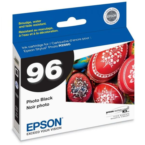 Epson T0961 Photo Black Ink Cartridge (T096120)