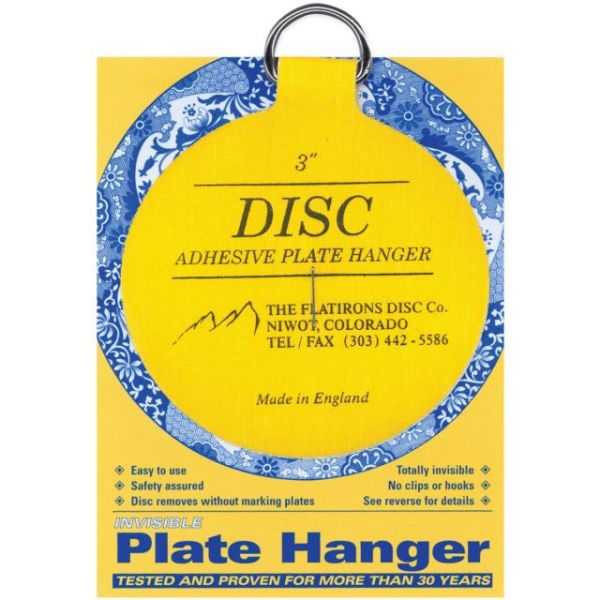 Invisible Plate Hanger 3""