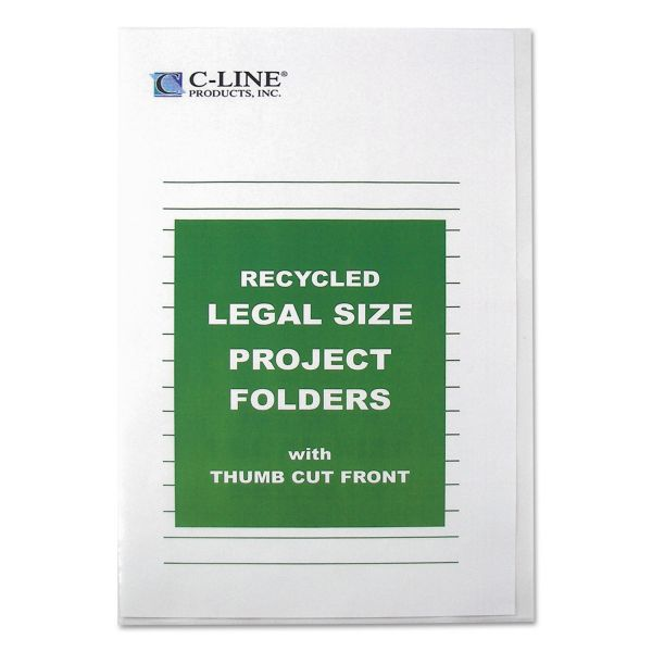 C-Line Recycled Project Folders