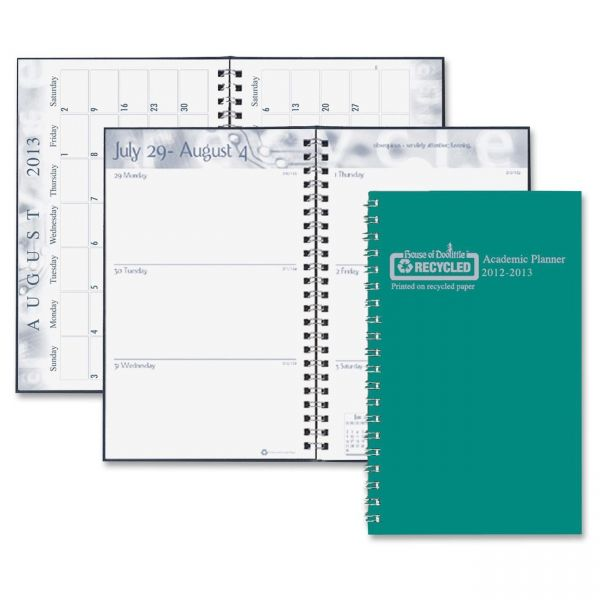 House of Doolittle Weekly/Monthly Student Planner