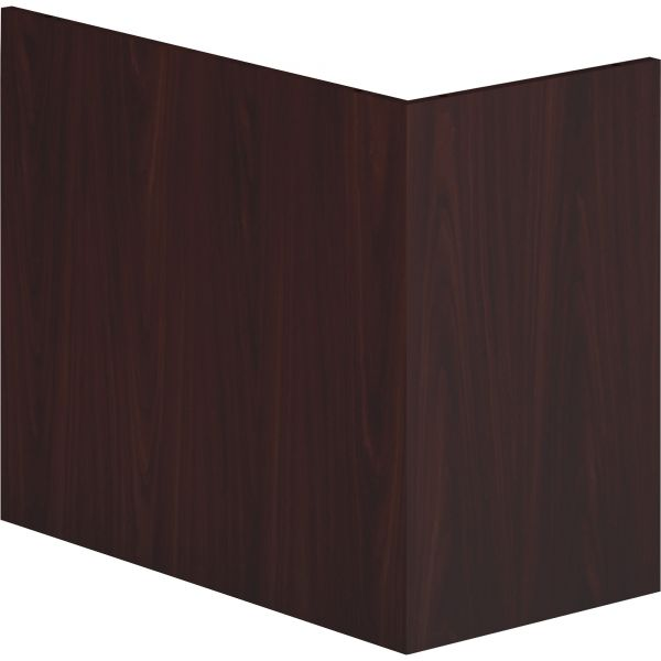 HON Voi End Panel Support, 16w x 30d x 28-1/2h, Mahogany