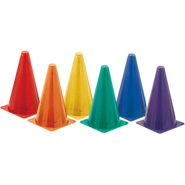 Champion Sports Indoor/Outdoor Flexible Cone Set