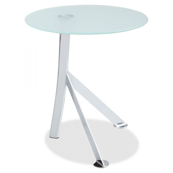 Safco Vari Accent Glass Top Table