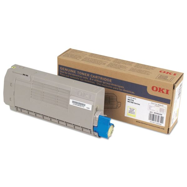 Oki 45396209 Yellow Toner Cartridge