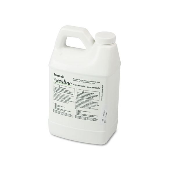 Eyesaline Refill for Porta Stream I Eyewash Station, 70-oz. Bottles, 6/carton