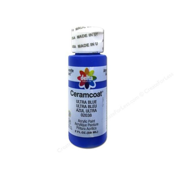 Ceramcoat Ultra Blue Acrylic Paint