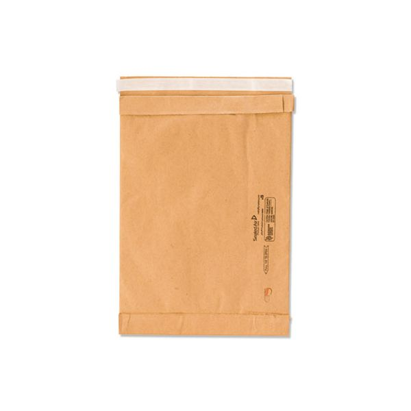 Sealed Air Jiffy Padded Mailer, #4, 9 1/2 x 14 1/2, Natural Kraft, 100/Carton