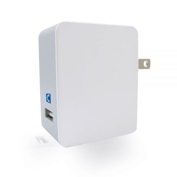 Comprehensive USB Wall Charger with Quick Charge 2.0 Technology 18W/5V/2.4A