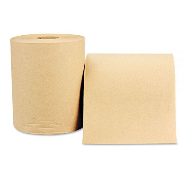 Windsoft Hardwound Nonperforated Paper Towel Rolls
