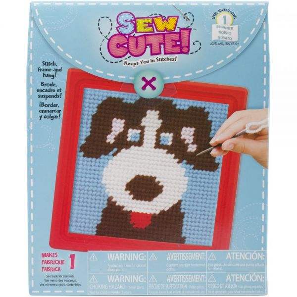 Learn To Sew Needlepoint Kit