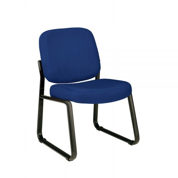 OFM Upholstered Armless Guest/Reception Chair