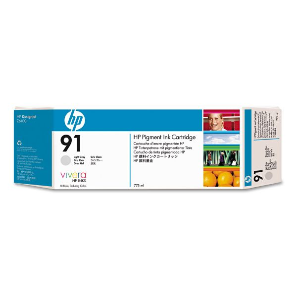 HP 91 (C9466A) Light Gray Original Ink Cartridge