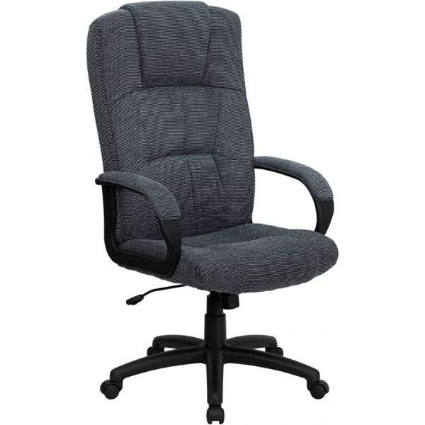 Flash Furniture High Back Executive Swivel Office Chair [BT-9022-BK-GG]