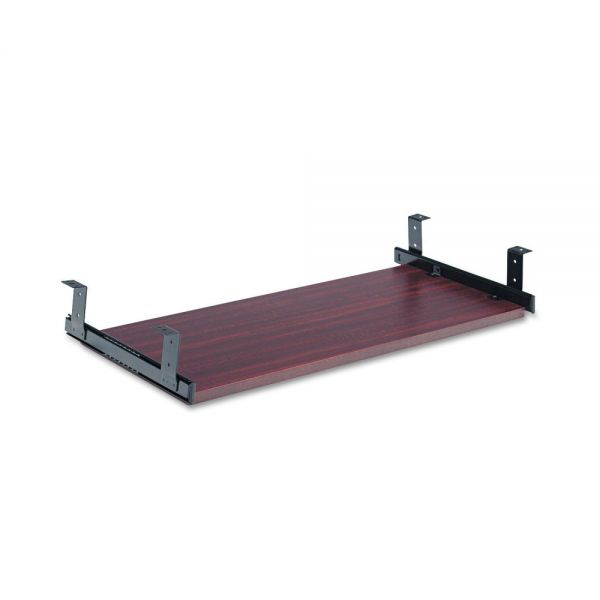 Alera Underdesk Keyboard/Mouse Shelf, 28 x 12, Mahogany