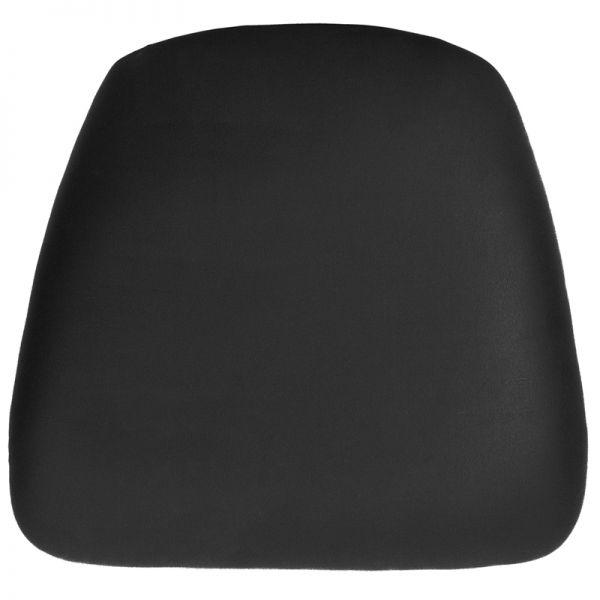 Flash Furniture Hard Black Vinyl Chiavari Barstool Cushion
