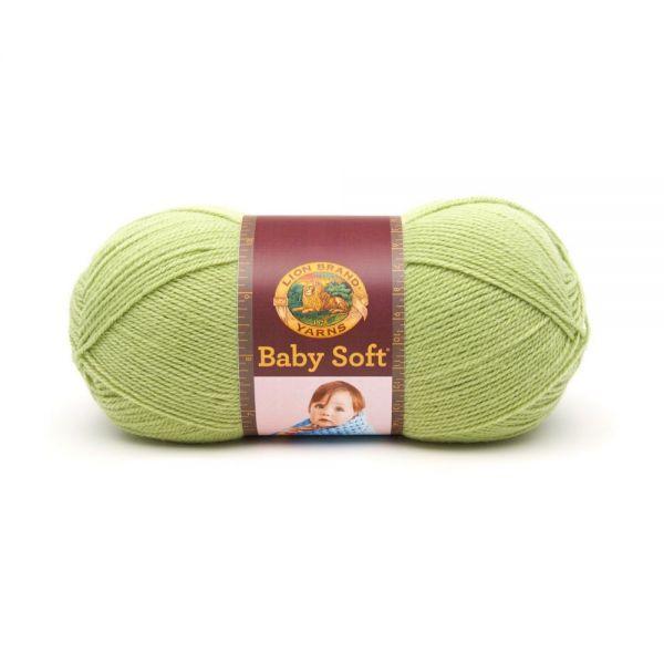 Lion Brand Baby Soft Yarn - Pistachio