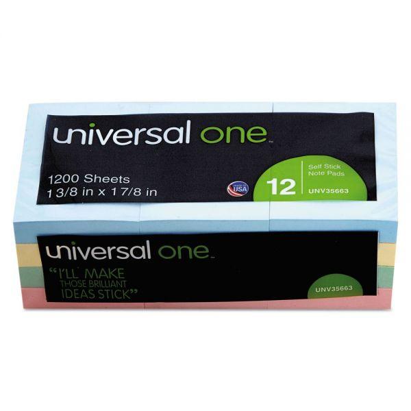 Universal Adhesive Note Pads