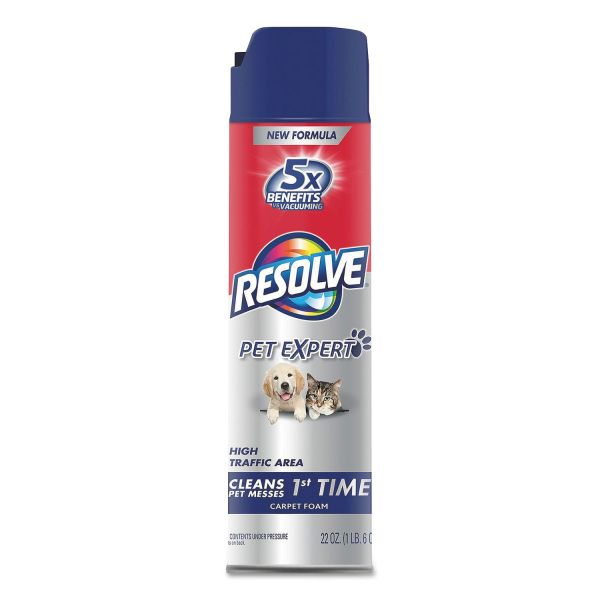 RESOLVE Pet High Traffic Foam Carpet Cleaner
