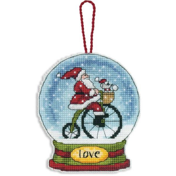 Dimensions Love Snowglobe Counted Cross Stitch Kit