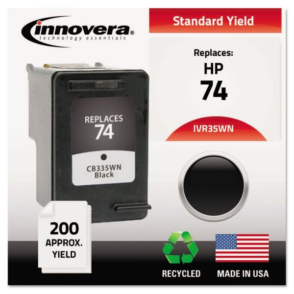 Innovera Remanufactured HP 74 Ink Cartridge