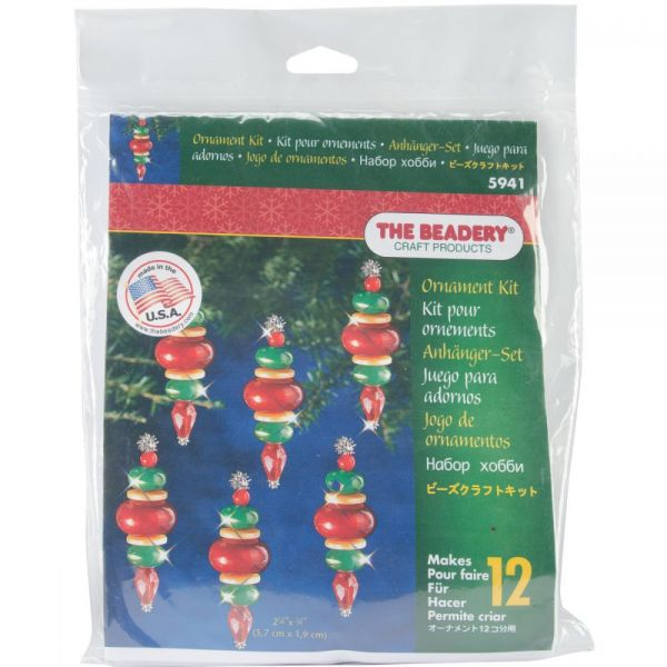 Holiday Beaded Ornament Kit