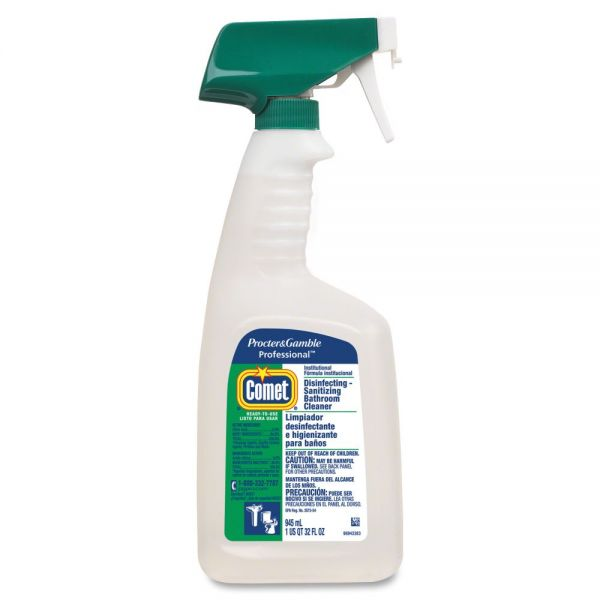 P&G Comet Disinfecting Bathroom Cleaner