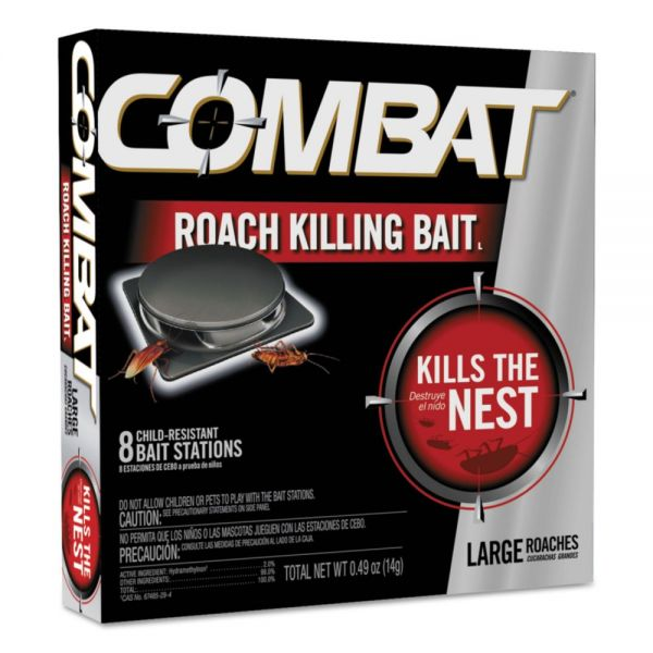 Combat Source Kill Large Roach Killing Bait Stations
