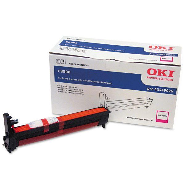 Oki Magenta Image Drum For C8800 Series Printers