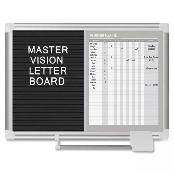 MasterVision In-Out and Messaging Center
