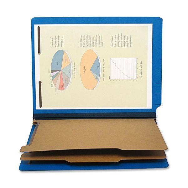 "SJ Paper 6-part 2-1/4"" Exp Classification Folders"