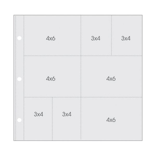 "Sn@p! Pocket Pages For 12""X12"" Binders 10/Pkg"
