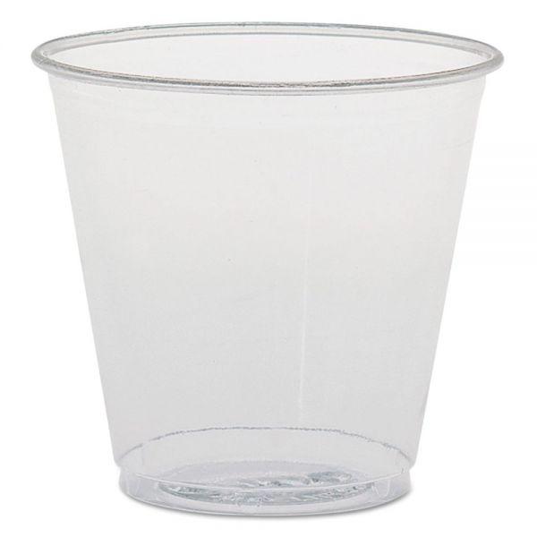SOLO Cup Company 3.5 oz Plastic Sampling Cups