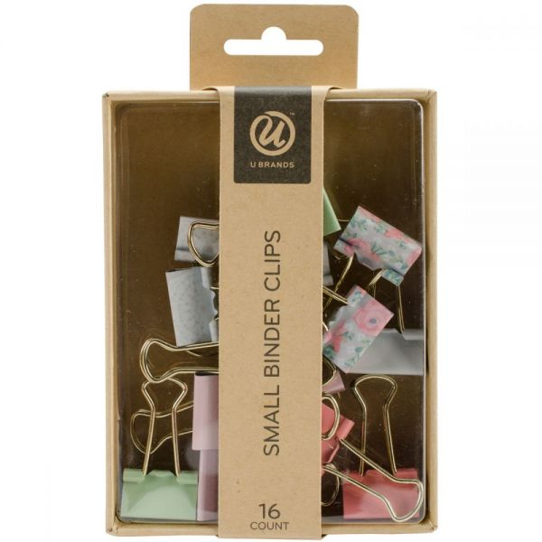 Small Binder Clips 16/Pkg