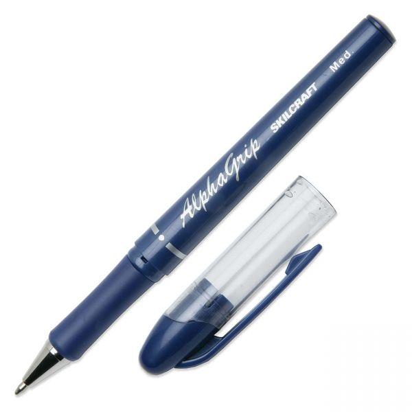 SKILCRAFT Cushion Grip Ballpoint Pens
