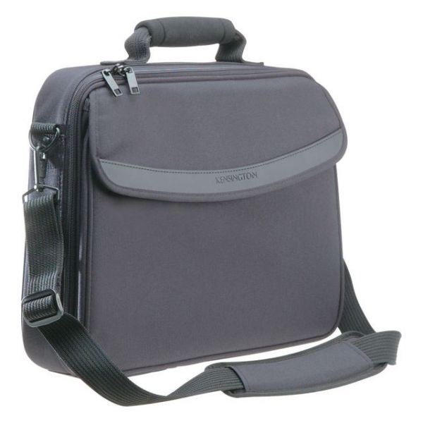 "Kensington SureCheck K62148 Carrying Case (Messenger) for 15.4"" Notebook - Black"