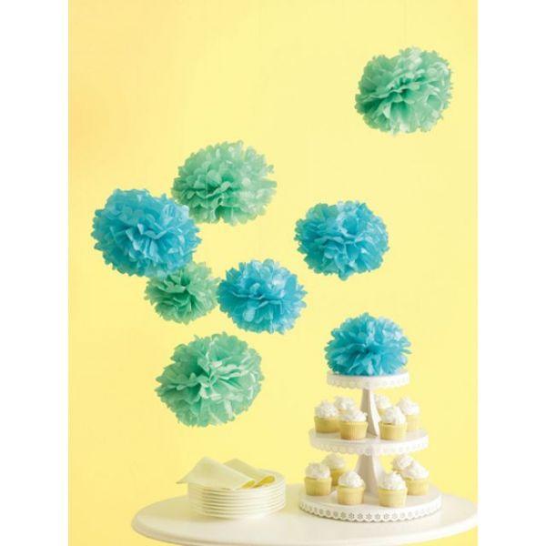 Celebrate Decor Pom-Pom Kit Makes 8
