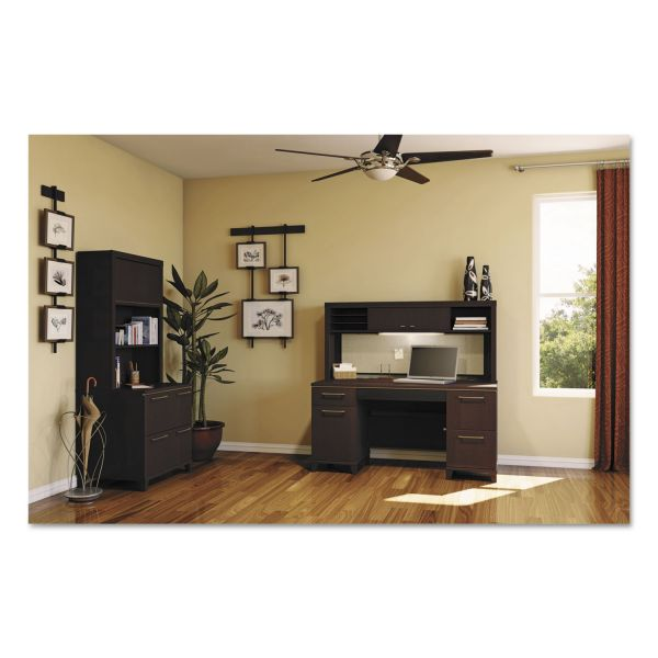 bbf Enterprise Low Hutch by Bush Furniture