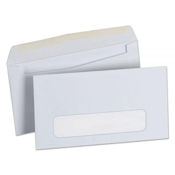 Universal Window Business Envelope, #6 3/4, 3 5/8 x 6 1/2, White, 500/Box