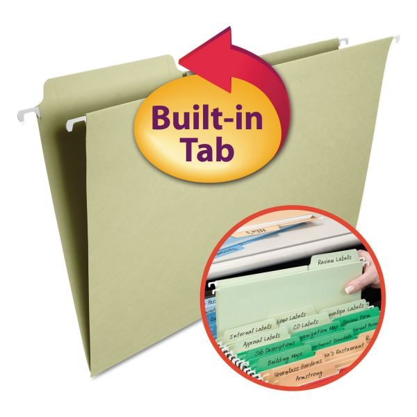 Smead FasTab Hanging File Folders