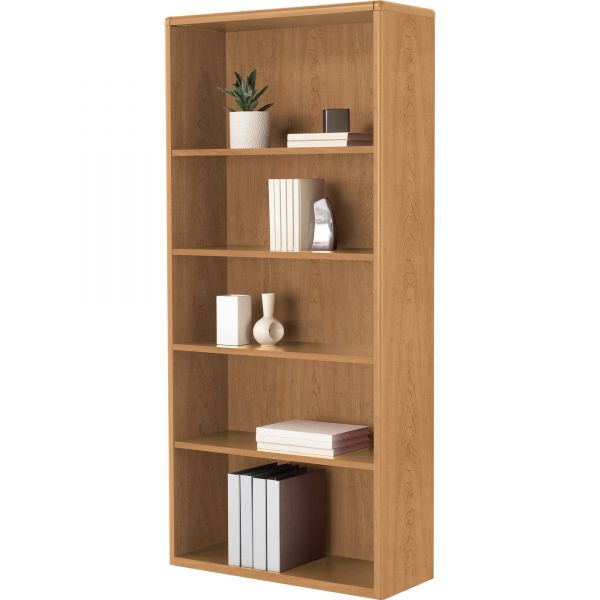 HON 10700 Series 5-Shelf Bookcase