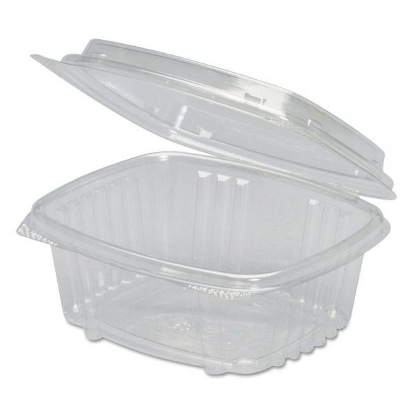 Genpak Clear Hinged Deli Container, APET, 12 oz, 5 3/8 x 4 1/2 x 2 7/8, 200/Carton