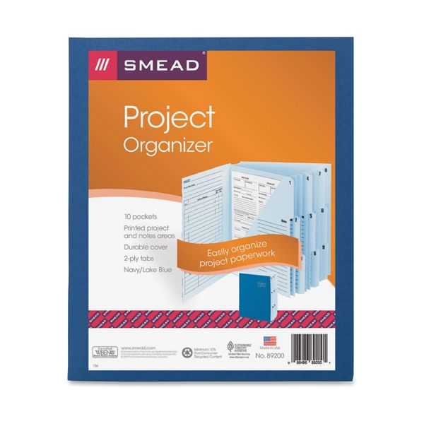 Smead Project Organizer Expanding File