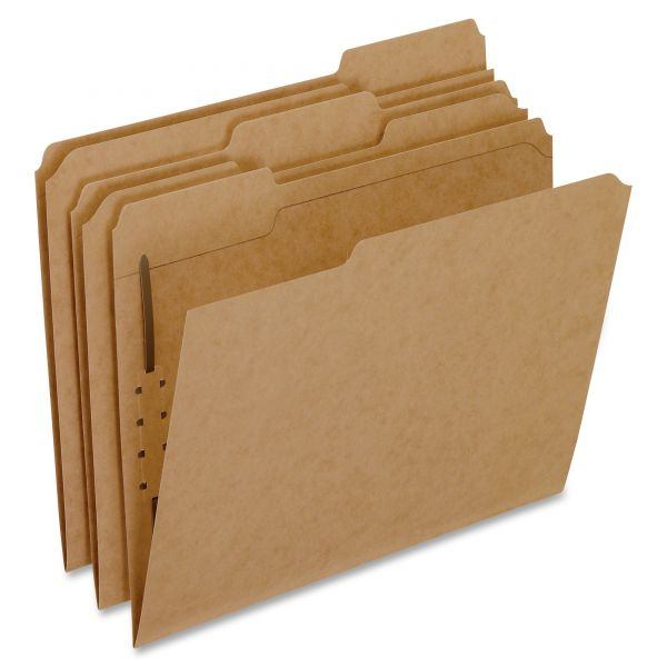 Oxford Kraft File Folders With Fasteners