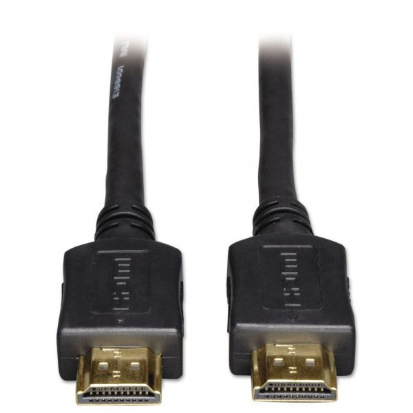 Tripp Lite High Speed HDMI Cable, Digital Video with Audio, 3 ft, Black