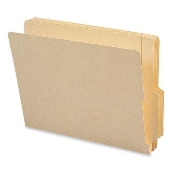 Smead Letter Size Reinforced End Tab File Folders