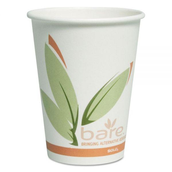SOLO Cup Company Bare Eco-Forward 12 oz Paper Coffee Cups