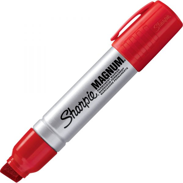 Sharpie Magnum Red Permanent Markers