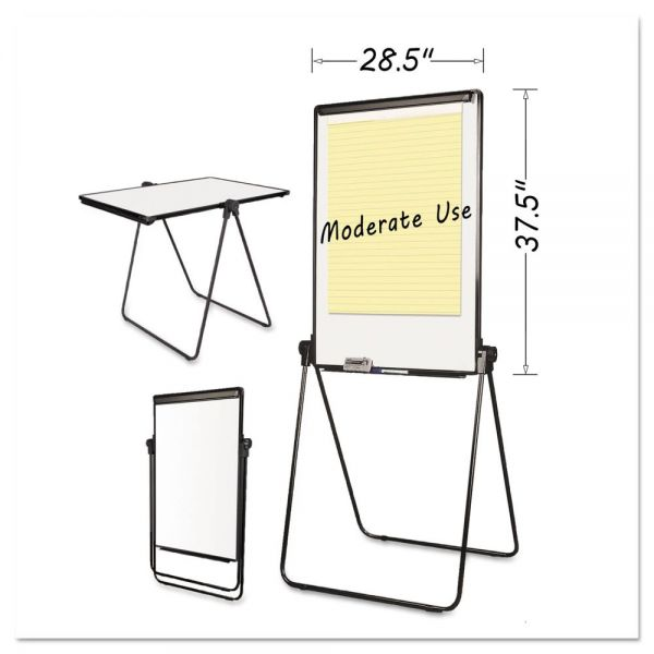 MasterVision Folds-to-a-Table Dry Erase Easel